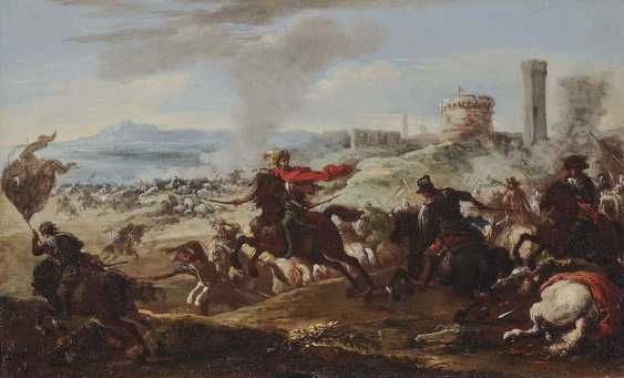 Courtois, Jacques, attributed to. Rider battle - photo 1