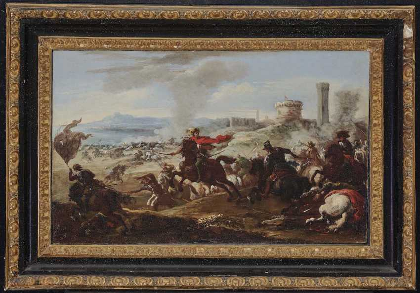 Courtois, Jacques, attributed to. Rider battle - photo 2