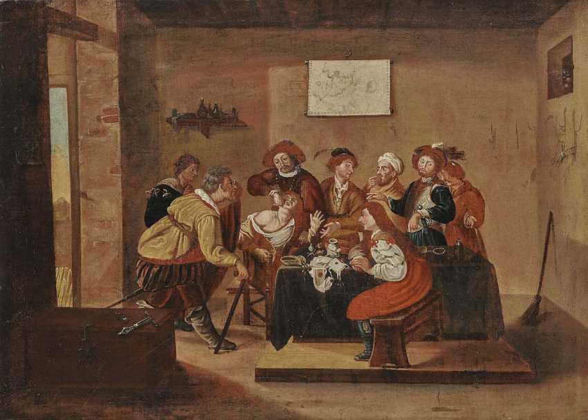 The NETHERLANDS 17. Century. The Dental Treatment - photo 1