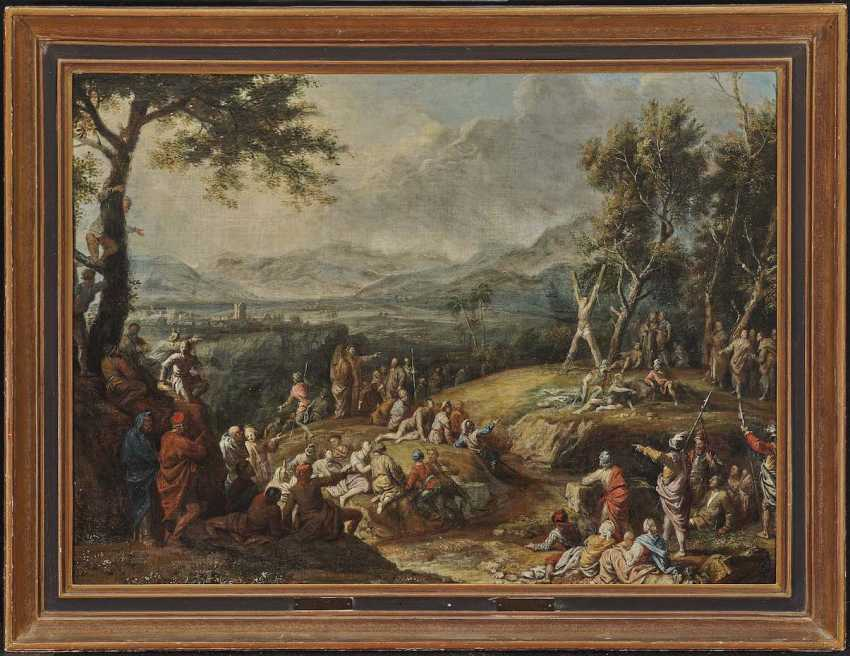 Beich, Franz Joachim, attributed to. Martyrdom of STS. Andreas - photo 2