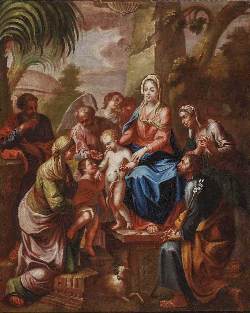 TIROL 18. Jahrhundert Die Heilige Sippe - photo 1