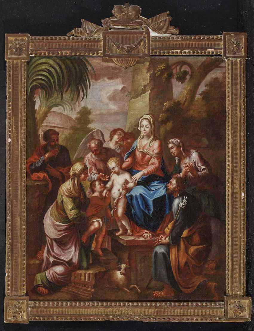 TIROL 18. Jahrhundert Die Heilige Sippe - photo 2