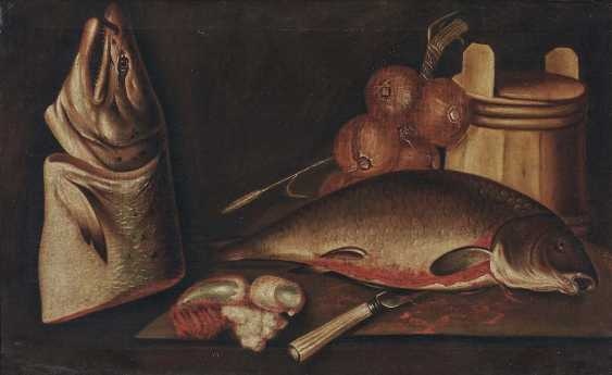 PUTTER, PIETER DE, attributed. Still life with fish and onions - photo 1