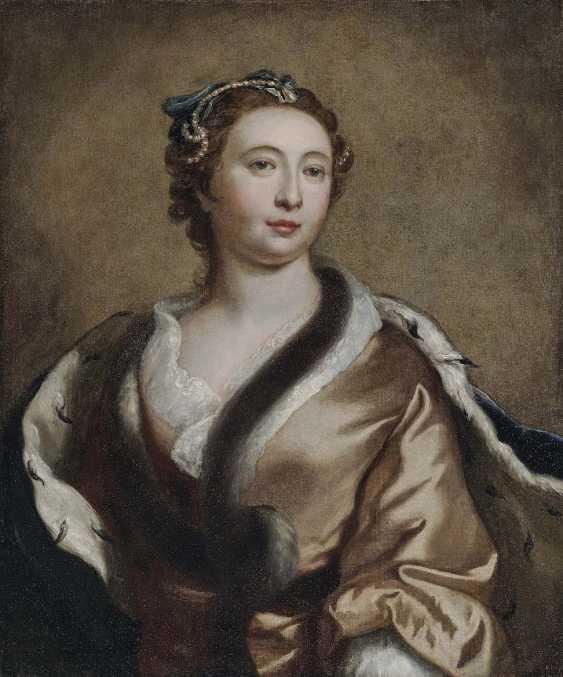 Russia 18. Century. Tsarina Elisabeth Petrovna (1709 Kolomenskoye - 1761, St. Petersburg) - photo 1