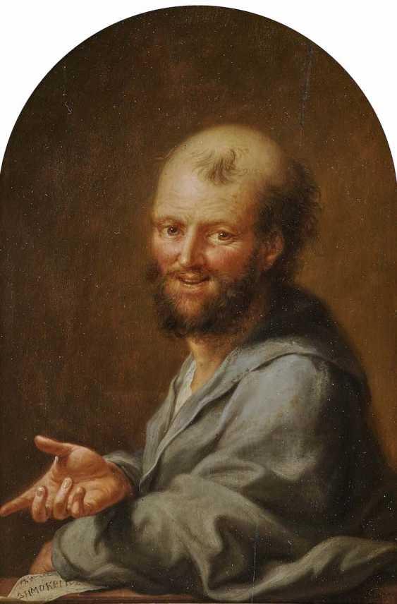 Tischbein d. Ä., Johann Heinrich. Portrait of the Greek philosopher Democritus - photo 1