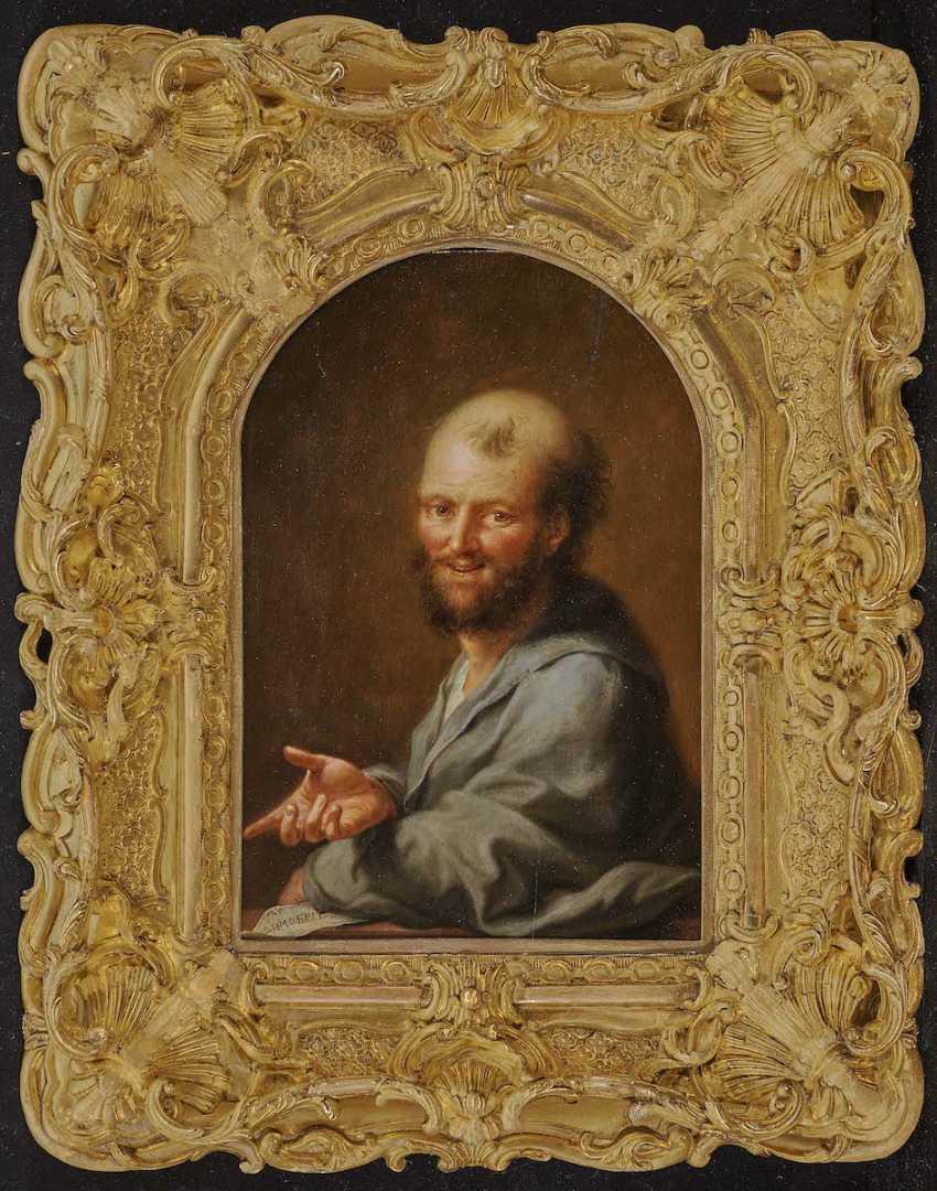 Tischbein d. Ä., Johann Heinrich. Portrait of the Greek philosopher Democritus - photo 2