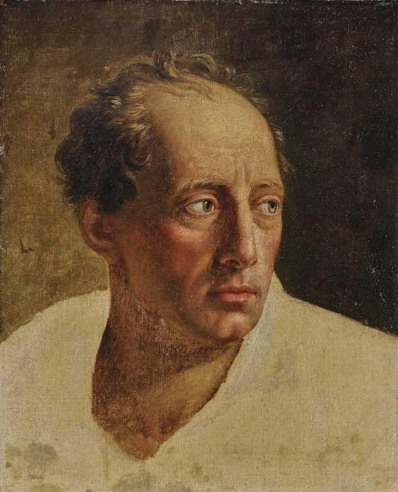 FRANKREICH Ende 18. Jahrhundert Studie nach einem Mann in mittleren Jahren - photo 1