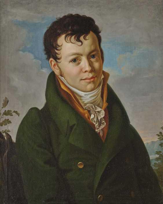 ENGLISH the beginning of the 19th. Century. Portrait of Heinrich Sigismund of Zeschau - photo 1