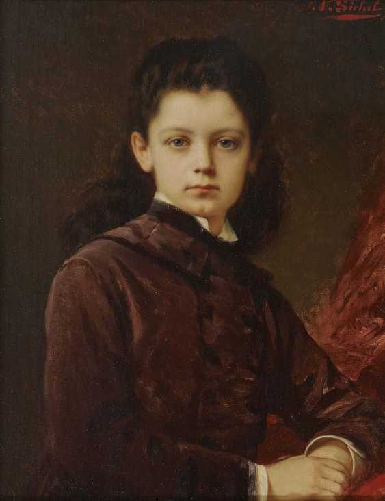 Sickle, Nathaniel. Portrait of a young lady - photo 1
