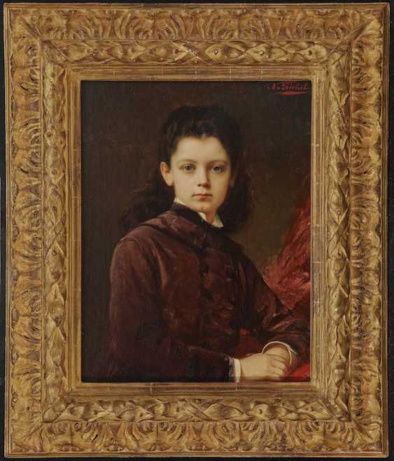 Sickle, Nathaniel. Portrait of a young lady - photo 2