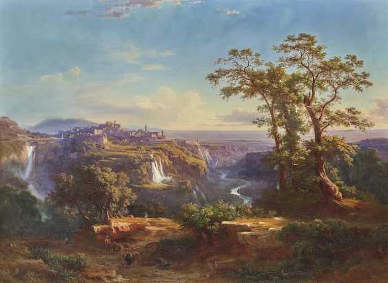 Frey, Johann Jakob. Views of Tivoli and the waterfalls - photo 1