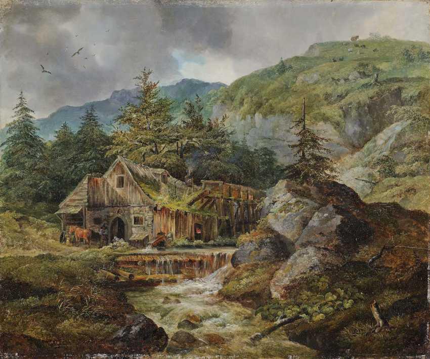 Bürkel, Heinrich. Forge in the mountains - photo 1