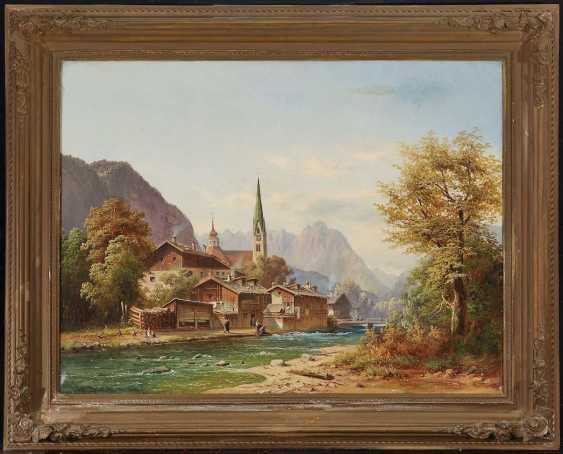 DOLL, ANTON. Mountain village on the river - photo 2