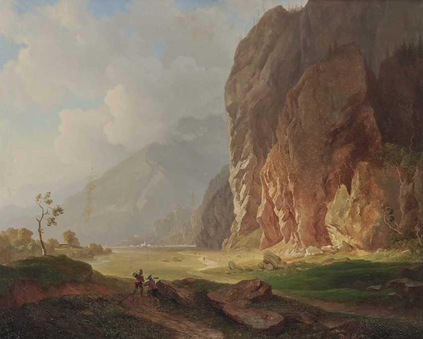 HEINLEIN, HEINRICH. Mountain landscape - photo 1