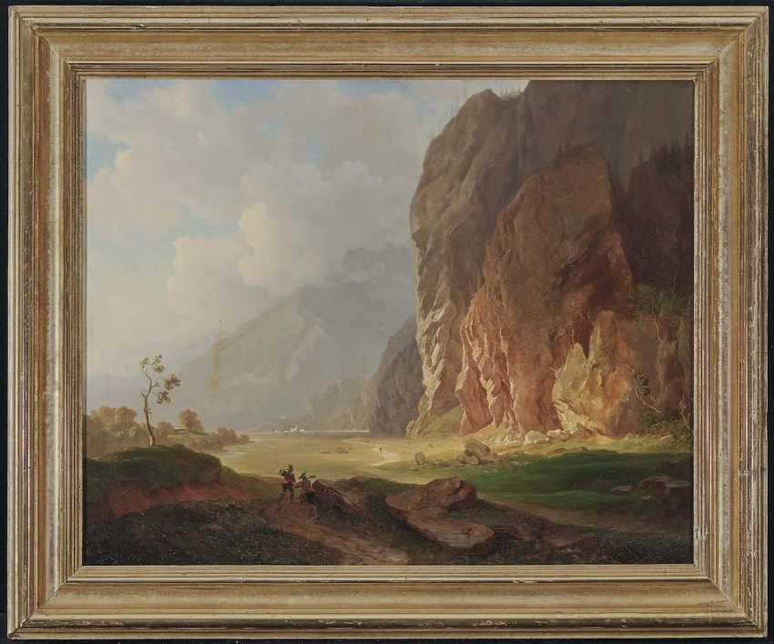 HEINLEIN, HEINRICH. Mountain landscape - photo 2