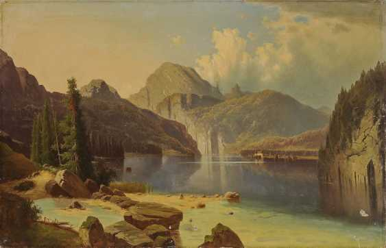 Chwala, Adolf, attributed to. The Königssee - photo 1