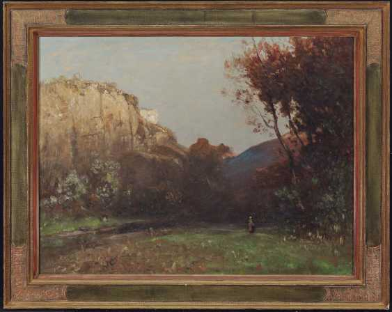 ROIDER, LUDWIG WANTS. Rocky landscape with figure staffage - photo 2