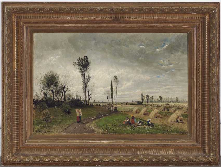 Buchholz, Karl. Landscape with peasant figure staffage - photo 2