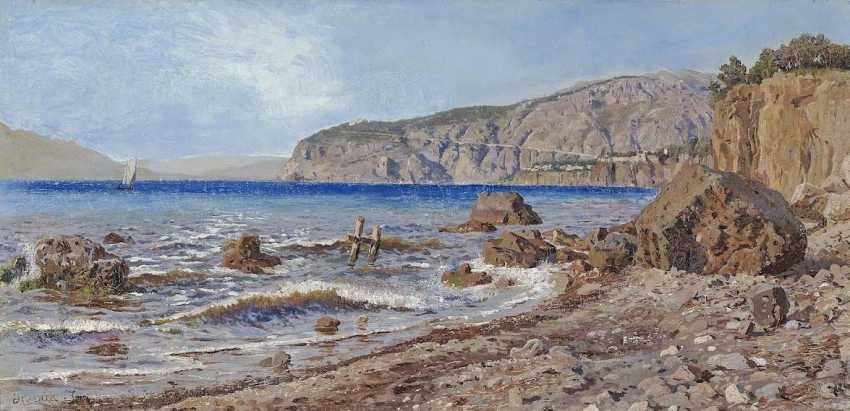 JERICHAU, HARALD ADOLPH NIKOLAJ. Sorrento coast - photo 1