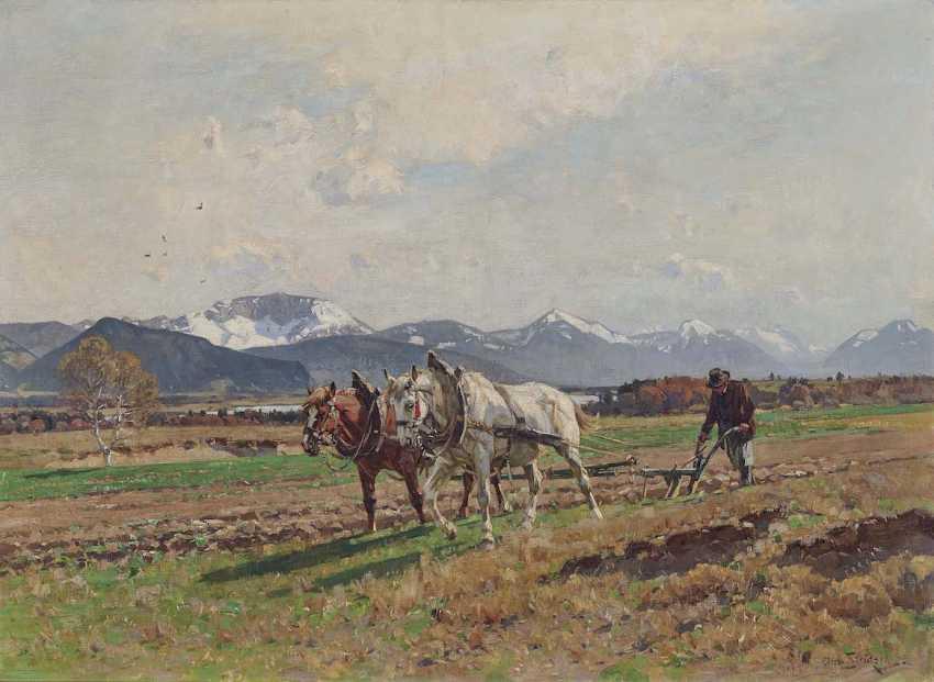 STRÜTZEL, OTTO. Plows Farmer - photo 1