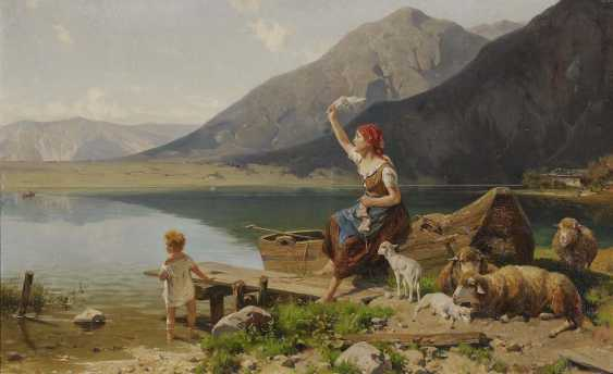 MEISSNER, ERNST. Greeting over the lake - photo 1