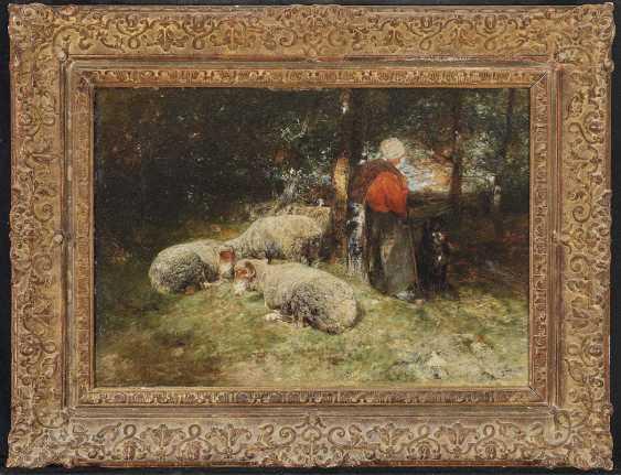 Zügel, Heinrich von. Resting in the forest - photo 2