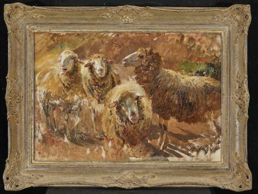 "ZÜGEL, HEINRICH VON. ""Sheep trials"" - photo 2"