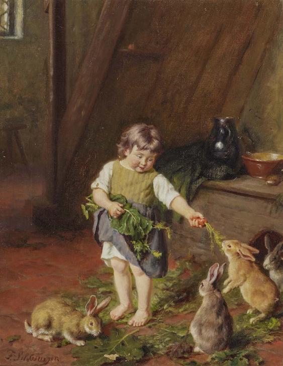 artist-young-girl-feeding-rabbits-compulsive-masturbation-bipolar