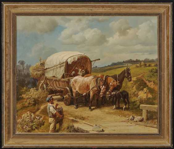 Kovalevsky, Pavel Osipovich. With a team of horses on the way - photo 2