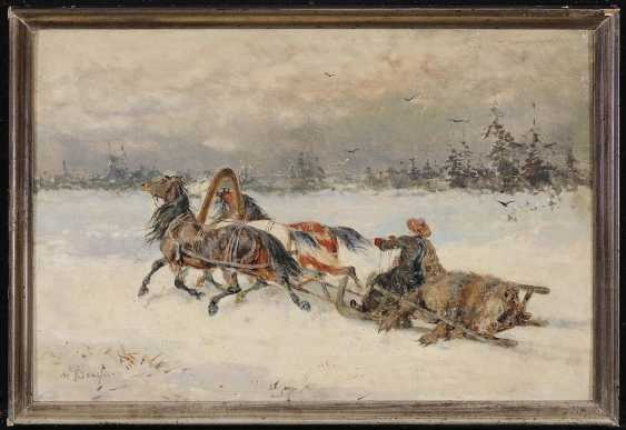 "BANSA, ALEXANDER KNIGHT. ""Return from the bear hunt"" - photo 2"