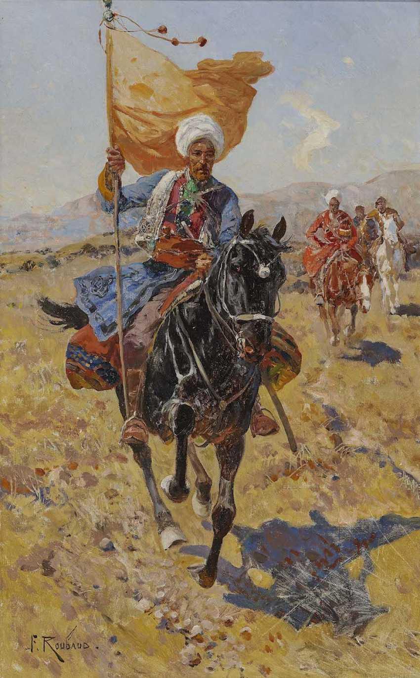 ROUBAUD, FRANZ. Circassian rider - photo 1