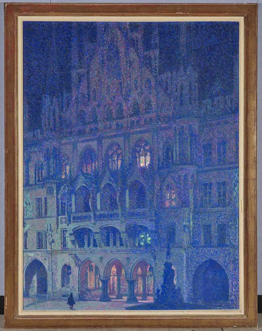 Palmié, Charles Johann. Munich - The evening of the New town hall - photo 2
