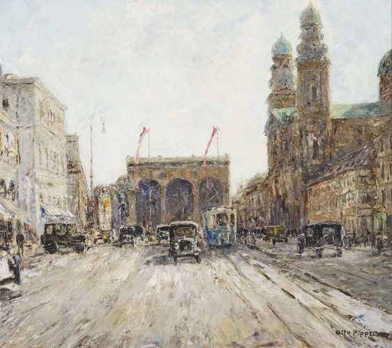 "Pippel, Otto. ""Ludwigstraße in Munich"" - photo 1"