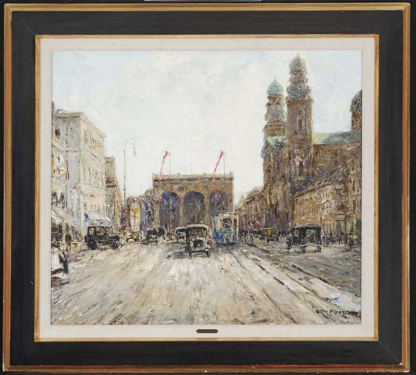 "Pippel, Otto. ""Ludwigstraße in Munich"" - photo 2"
