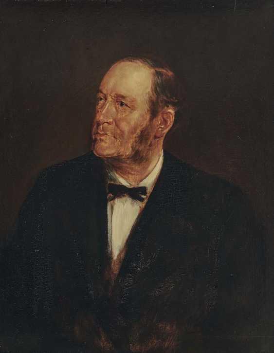 Lenbach, Franz von. Portrait of a gentleman - photo 1
