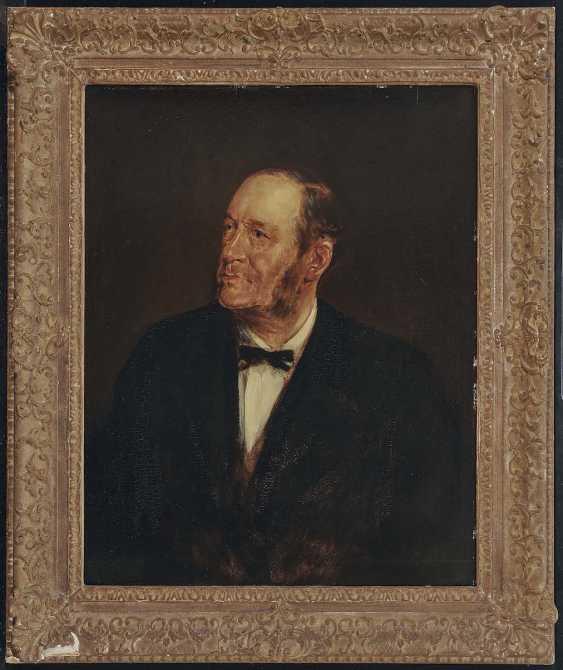 Lenbach, Franz von. Portrait of a gentleman - photo 2