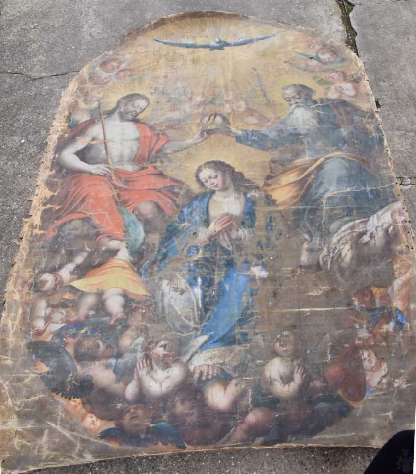 BAROQUE altar Oil paintings on canvas, around 1700 - photo 1