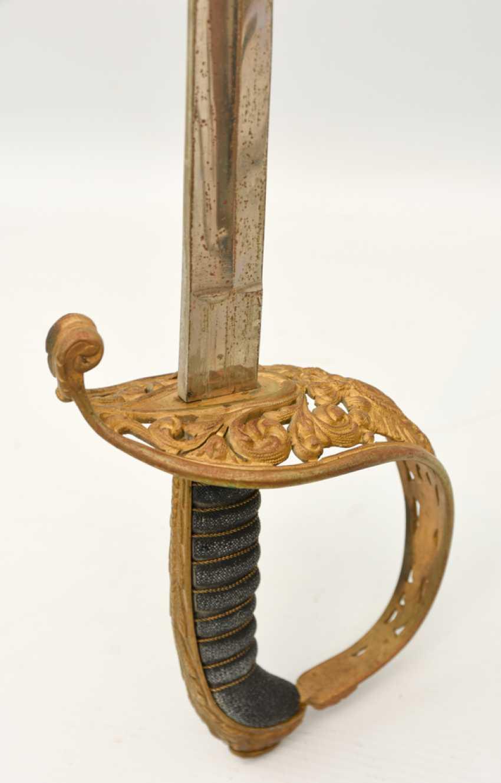 Parade saber, steel/brass/leather, Habsburg Empire 19. Century - photo 3