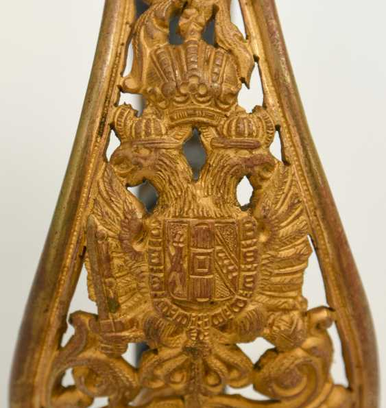 Parade saber, steel/brass/leather, Habsburg Empire 19. Century - photo 5