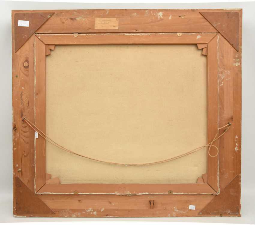 "KÜPPER: ""Villa in the Park"", Oil on fiberboard, framed and signed, 1895 - photo 2"