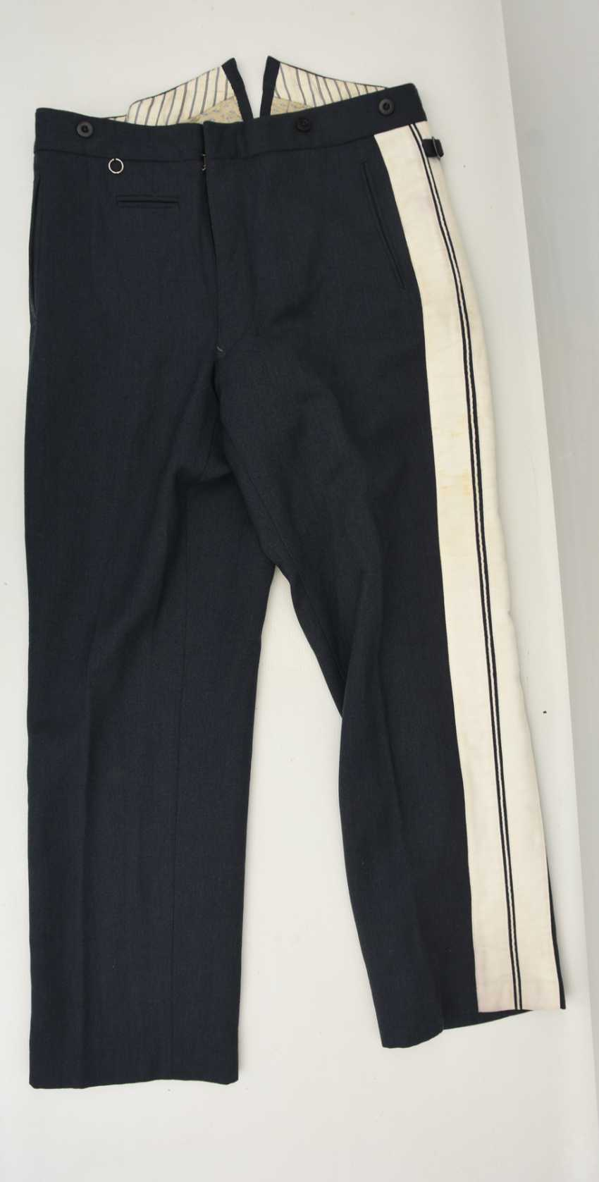 "AIR force UNIFORM ""SMALL ROCK"", (approx. Size 40), cloth/satin German Empire 1940 - photo 2"