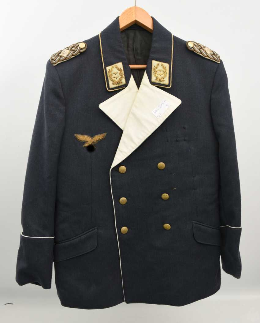 "AIR force UNIFORM ""SMALL ROCK"", (approx. Size 40), cloth/satin German Empire 1940 - photo 8"