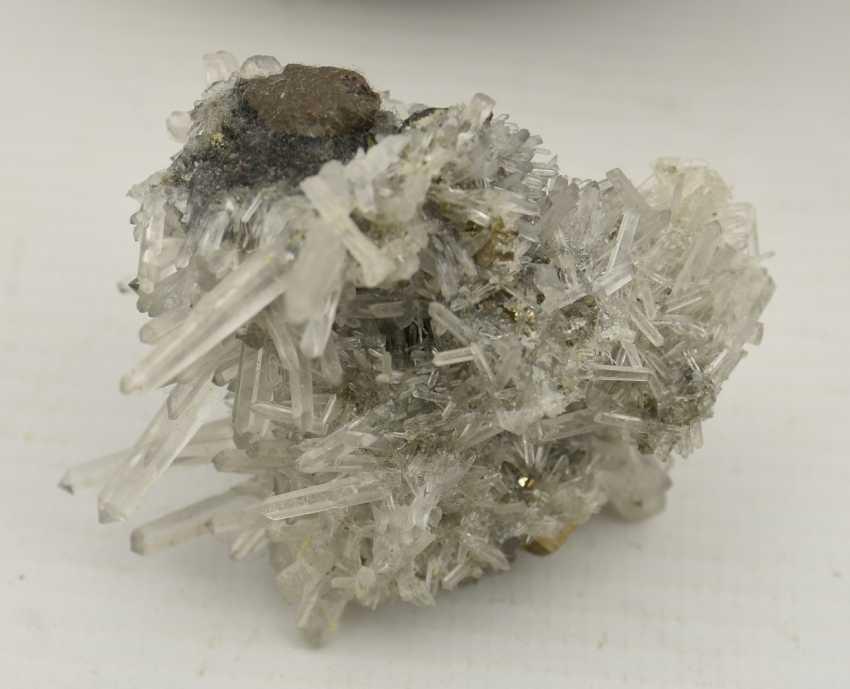 COLLECTION of MINERALS AND semi-precious stones including coral, Amethyst, quartz, 20. Century - photo 8