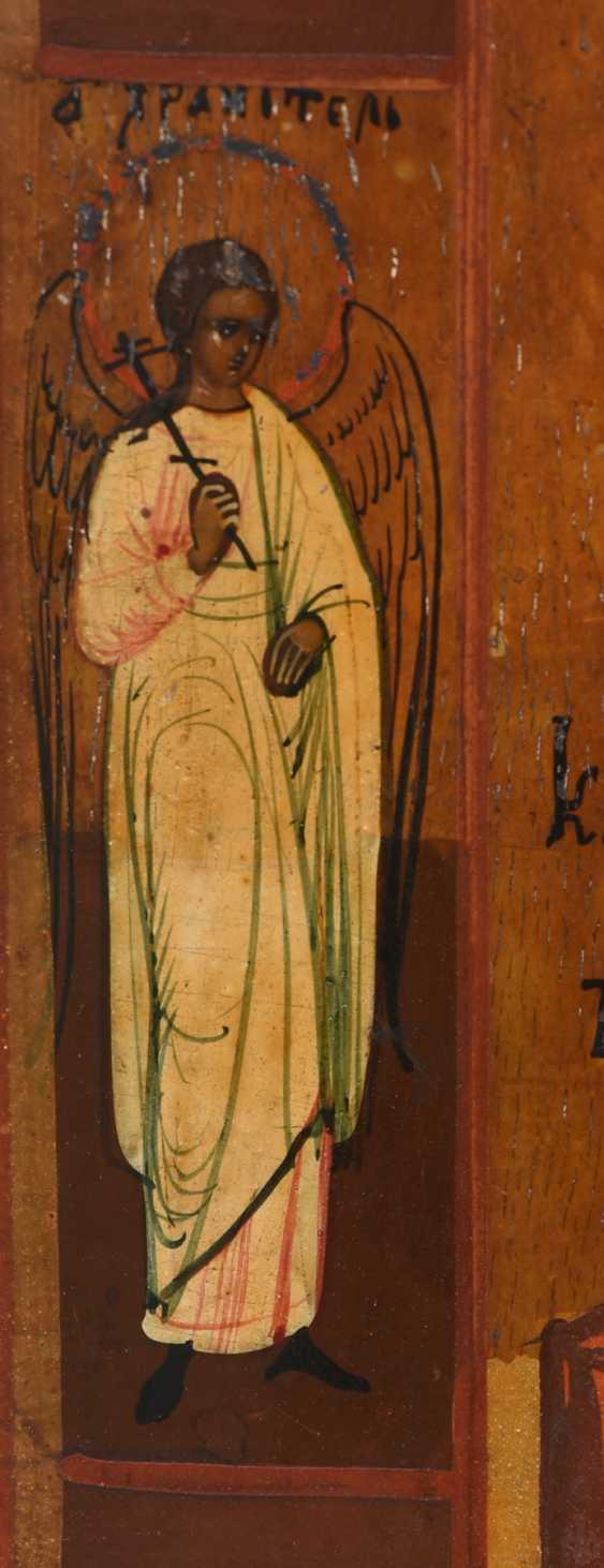 "ICON ""mother of GOD OF KAZAN"", egg tempera on wood Russia, around 1900 - photo 4"
