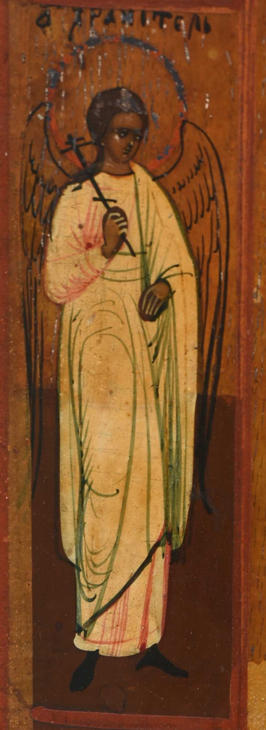 "ICON ""mother of GOD OF KAZAN"", egg tempera on wood Russia, around 1900 - photo 5"