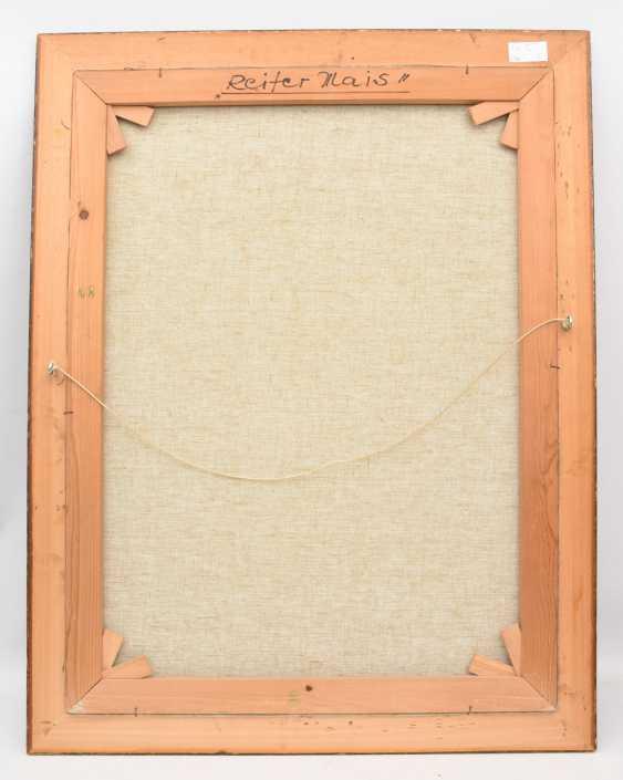 "RUDOLF-WERNER ACKERMANN:""RIPE CORN"", Oil on canvas, framed and signed - photo 3"
