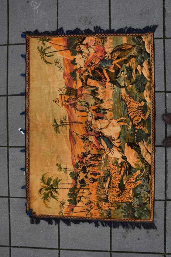 CARPET QUM silk on Cotton, Central Persia, 1970 - photo 3
