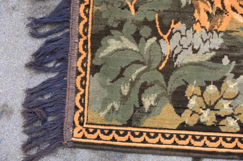 CARPET QUM silk on Cotton, Central Persia, 1970 - photo 5