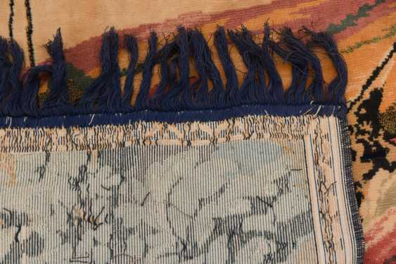 CARPET QUM silk on Cotton, Central Persia, 1970 - photo 6