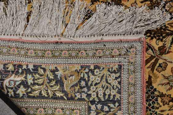 CARPET QUM silk on Cotton, Central Persia, 1970 - photo 8